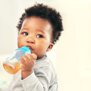 Your dentist in Allentown discourages juice for children under the age of one.